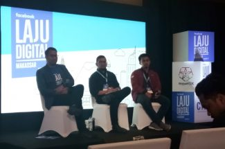 Facebook Indonesia menggelar pelatihan digital lewat road show Laju Digital.